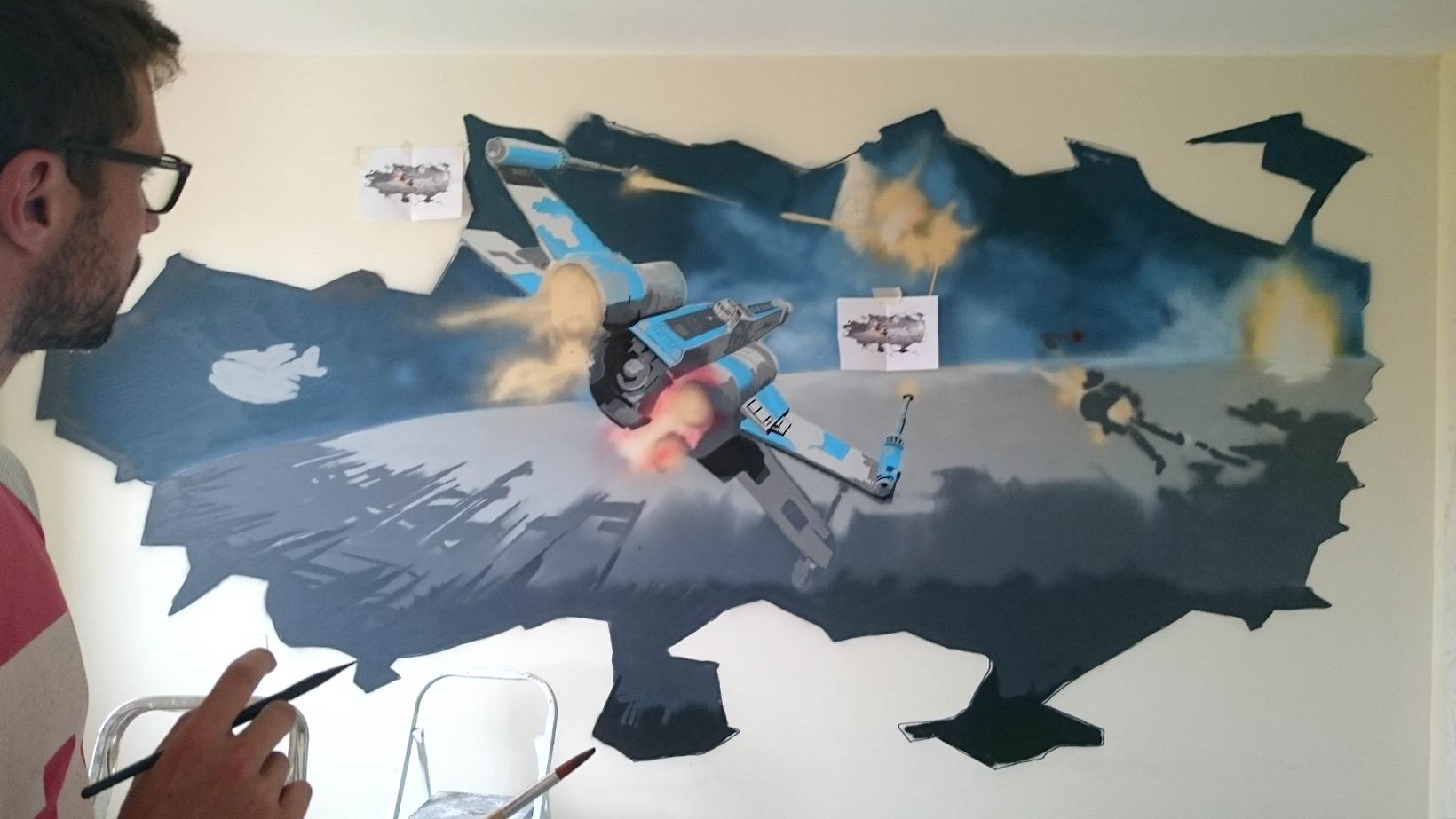 Deco Chambre Star Wars décoration star wars | art mural